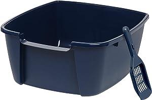 IRIS Open Top Cat Litter Box with Litter Scoop