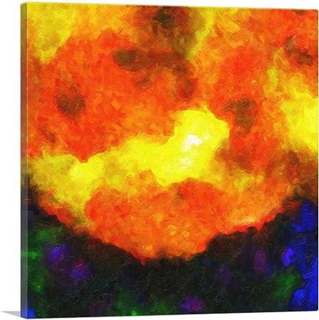 ARTCANVAS White Opal Precious Stone Gemstone Jewel Canvas Art Print