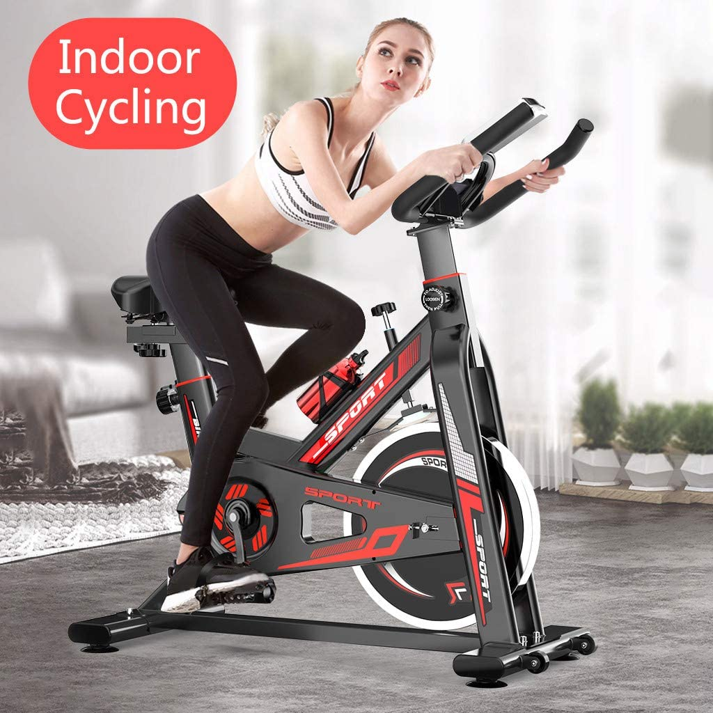 Amazon coupon code for Exercise Bike Recumbent Spin Cycling Bike