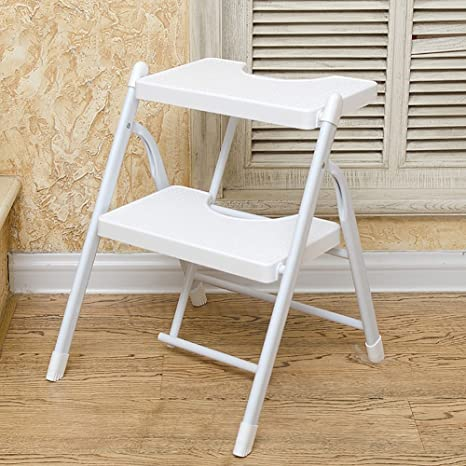 Remarkable Amazon Com Zfusshop Ladder Stool Home Folding Step Ladder Caraccident5 Cool Chair Designs And Ideas Caraccident5Info