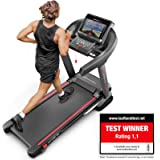Sportstech TEST WINNER F37 Professional Treadmill Up To 20 Km/h, Self-Lubrication System, Smartphone Fitness App, 15% Slope, Bluetooth Usb Mp3, Large Running Surface + Cushioning System Up To 150 Kg