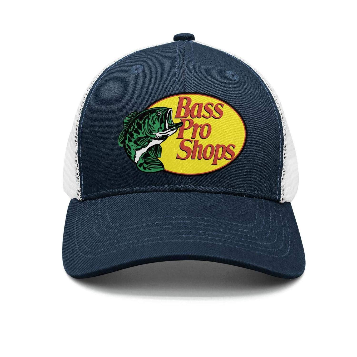Bass-Pro-Shops-Gone-Fishing-Logo-Classic Adjustable Mesh Unisex Dad Hat Caps