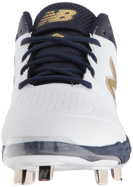 New Balance Women's Velo V1 Metal Softball Shoe B075R3M443 12 B(M) US|Navy/White