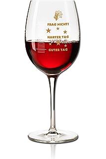 no preguntes ni siquiera a un asistente ejecutivo administrativo 11 oz Jumbo Copa de vino de dos caras para el buen d/ía del mal d/ía