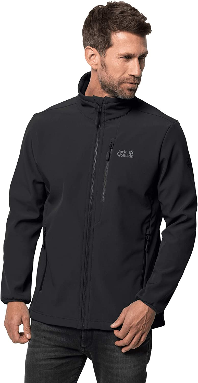 Jack Wolfskin mens Jack Wolfskin Whirlwind Men's Softshell Jacket 100% Pfc Free