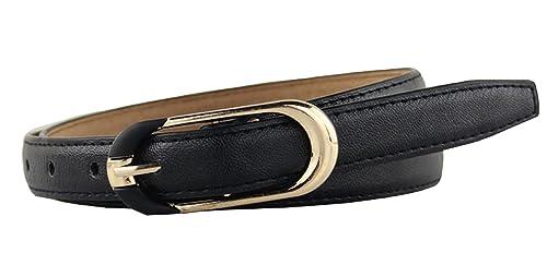 Inception Pro Infinite Cintura da donna - nera - Ecopelle - Fibbia colore oro - GP - 169