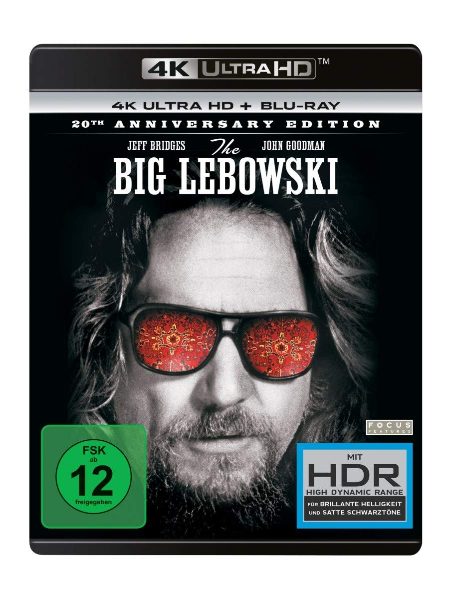 The Big Lebowski(4K Ultra HD) (+ Blu-ray 2D) [Alemania] [Blu-ray]