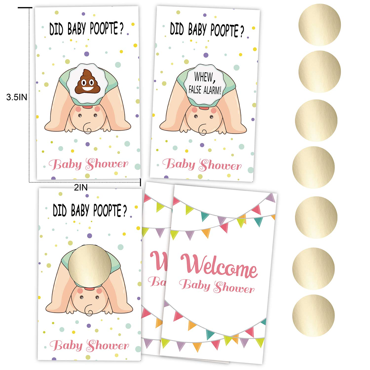 Door Prizes Set of 30 Unisex Lottery Ticket Raffle Card Game for Diaper Raffles Baby Shower Scratch Off Cards Game etyx001 Ice Breakers