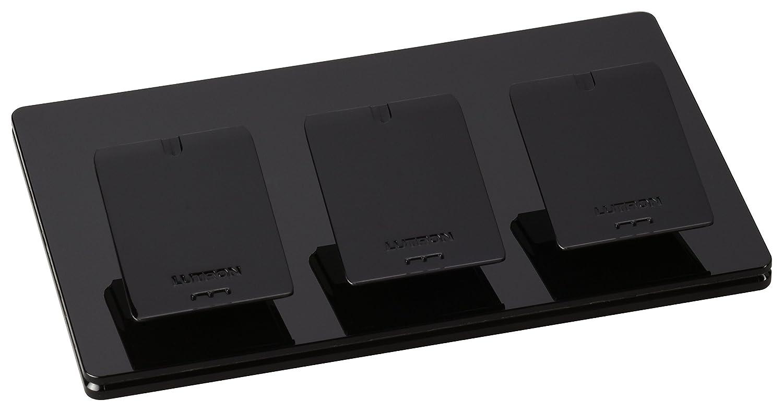 Caseta Wireless Triple-Pedestal for Pico Remote, L-PED3-BL, Black - Wall Dimmer Switches - Amazon.com