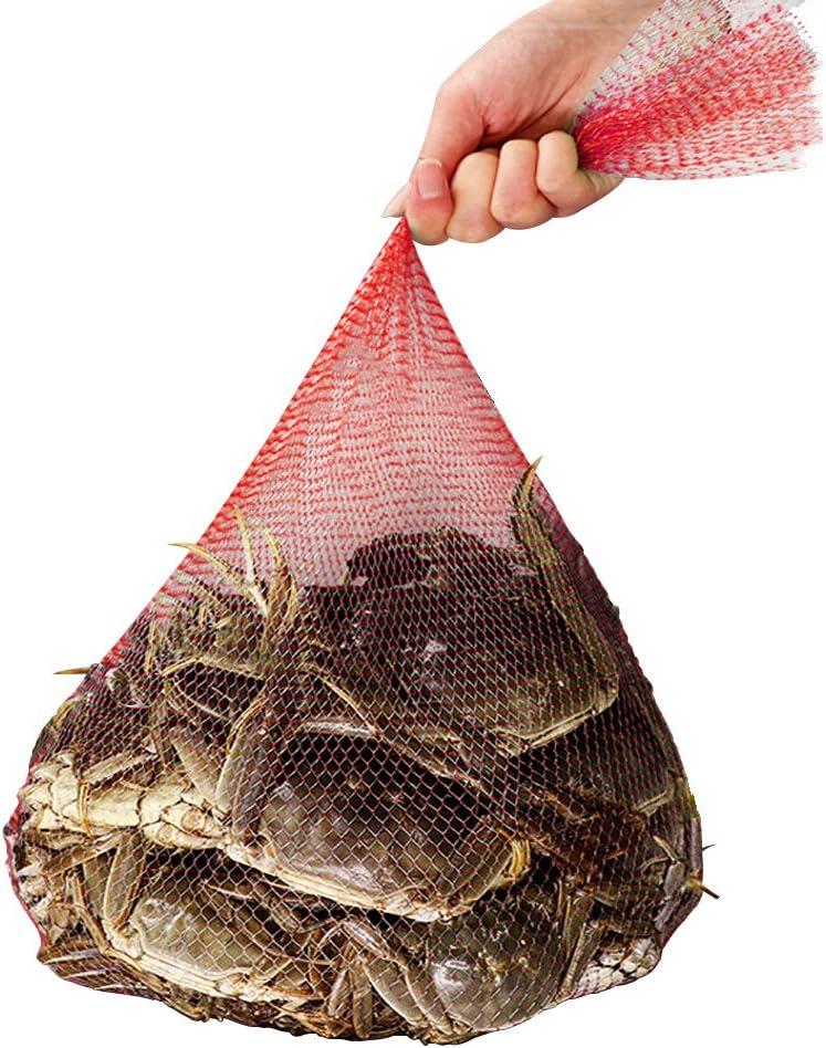 Amytalk seafood boil bags 100 pack Clam Bake/Shellfish Cooking Mesh Plastic Bags