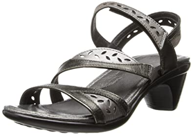 10a71fbc3b Naot Women's Beauty Dress Sandal,Metal Leather/Silver Thread Leather/Metal  Leather,