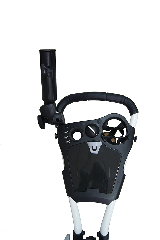 QWIK-FOLD - Carrito Golf 3 Ruedas Carrito Golf Empujar Tirar - Freno Pie - ¡Un Segundo para Abrir Y Cerrar!