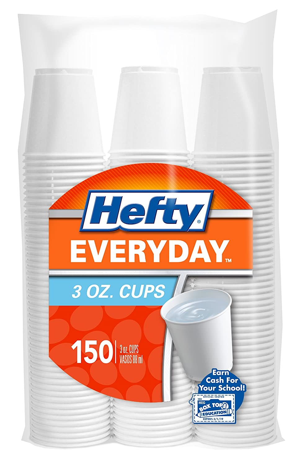Amazon com  Hefty Plastic Bathroom Cups  White  3 Ounce  150 Count  Pack of  12   Health   Personal Care. Amazon com  Hefty Plastic Bathroom Cups  White  3 Ounce  150 Count