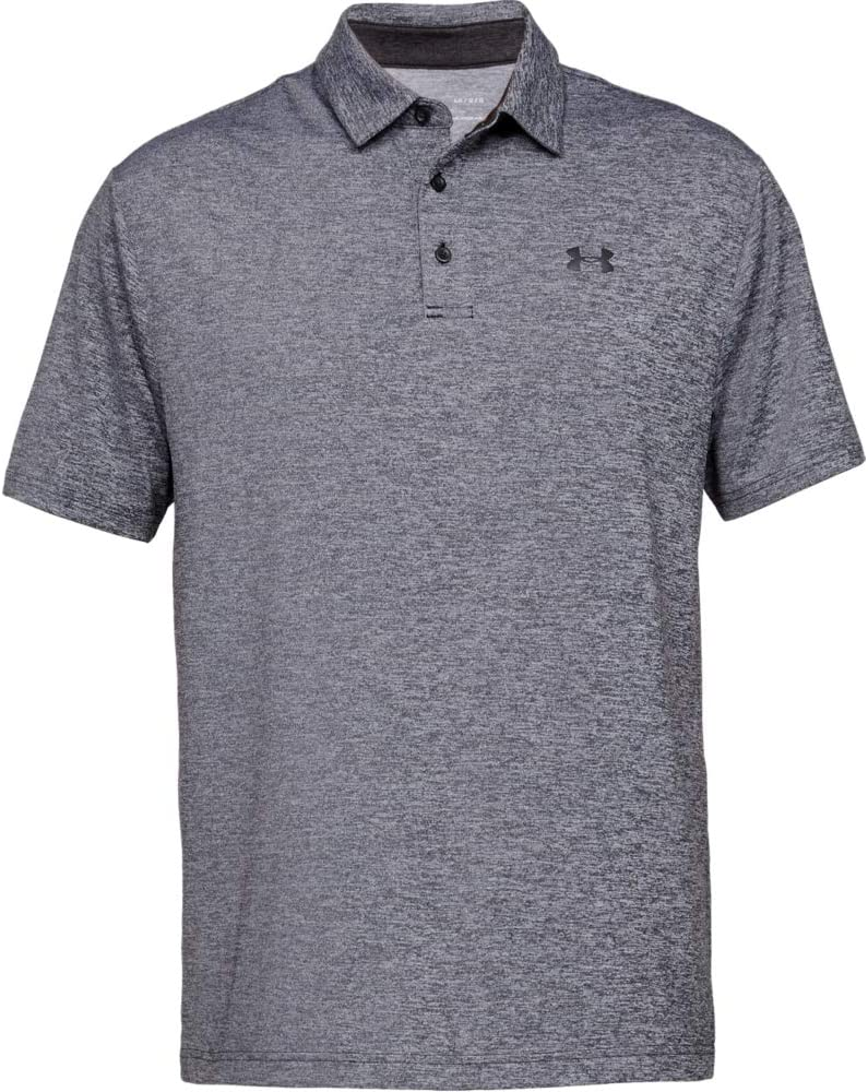 Under Armour Mens Playoff 2.0 Short Sleeve Polo T Shirt with Short Sleeves Short Sleeve Polo Shirt with Sun Protection