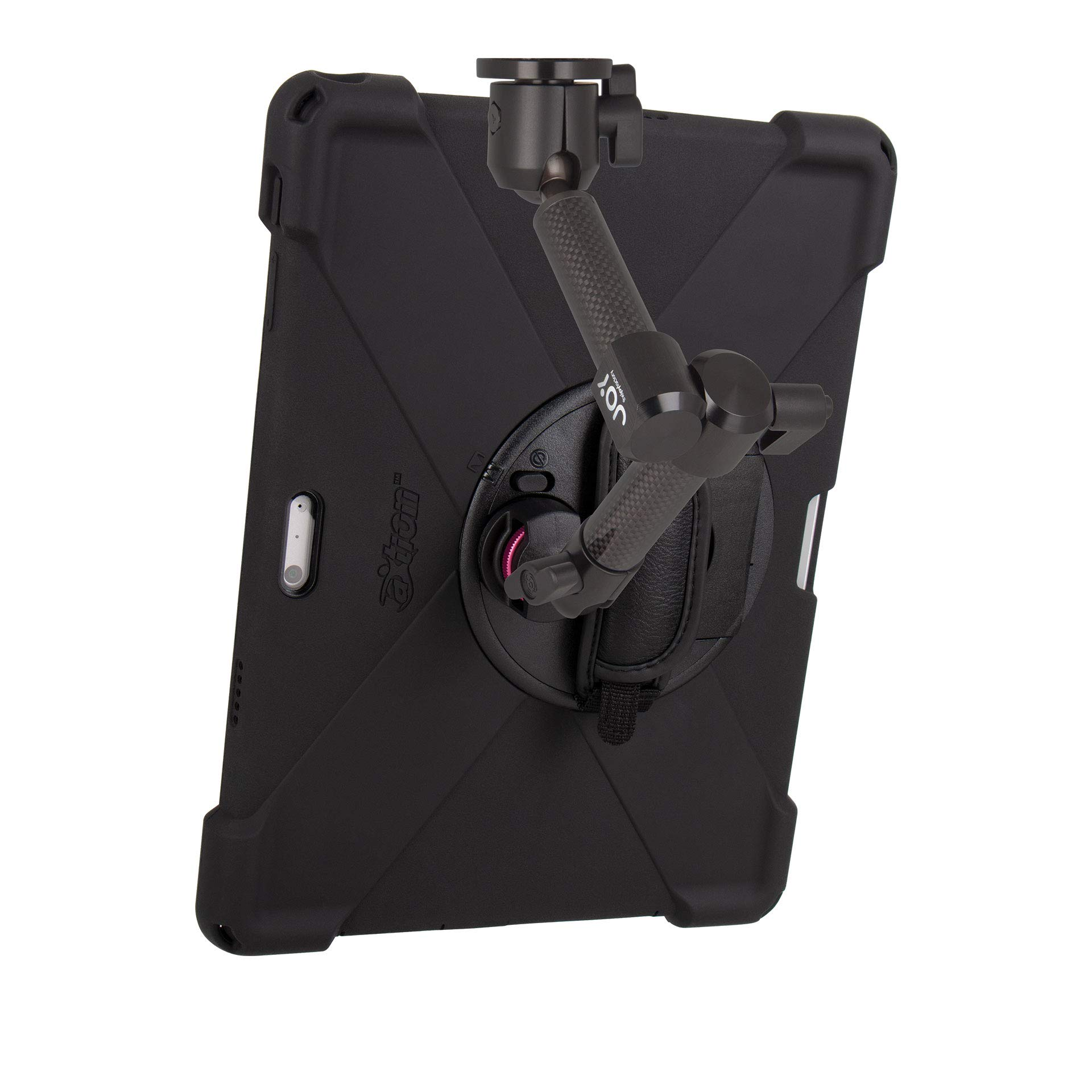 The Joy Factory MagConnect Carbon Fiber Wall/Counter Mount w/aXtion Bold MP Water-Resistant Rugged Shockproof Case for Surface Pro 4/5/6, Built-in Screen Protector, Hand Strap, Kickstand (MWM3004MP) by The Joy Factory (Image #4)