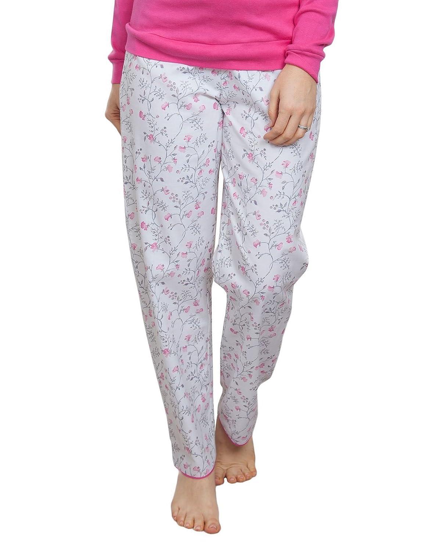 TALLA 36. Cyberjammies 3802 Women's Erica Grey Floral Pajama Pyjama Pant