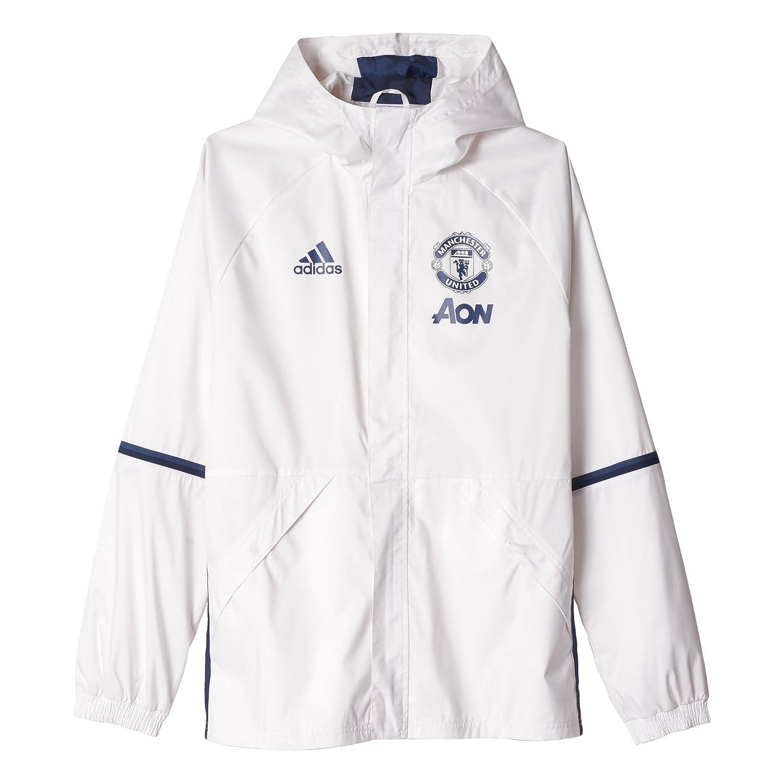 Adidas MUFC ALLW JKT Jacke Manchester United FC für Herren, Mehrfarbig