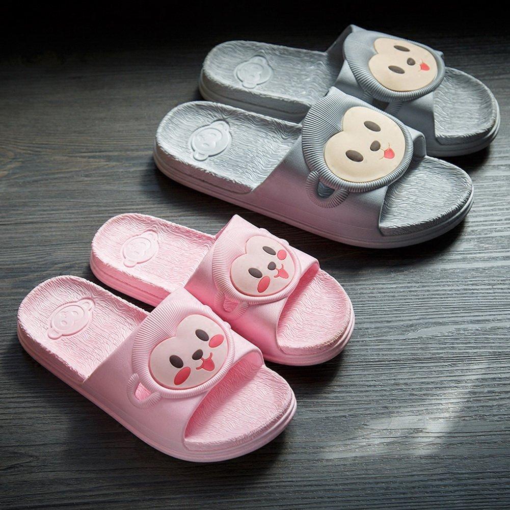 Vokamara Cute Monkey Slide Sandals for Kids Bathroom Pool Slides