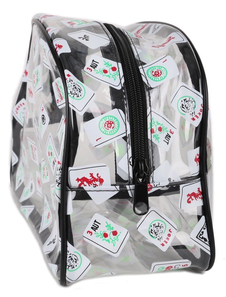 Mah Jongg Direct Zippered Tile Bag Cosmetic for Tiles