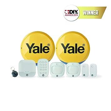 Yale IA-330 Sistema de Alarma de Seguridad Blanco: Amazon.es ...