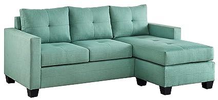 Stupendous Amazon Com Benzara Bm180161 Sectional Sofa With Reversible Creativecarmelina Interior Chair Design Creativecarmelinacom