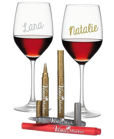 Review Vino Marker Metallic Wine