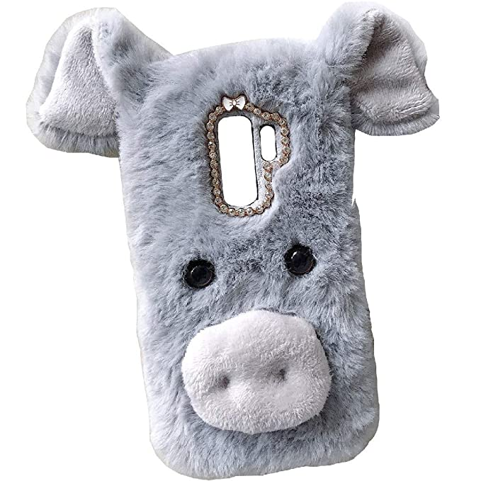 LeEco Le Pro3AI Edition Art Case, Handmade Fluffy Villi Pig ...
