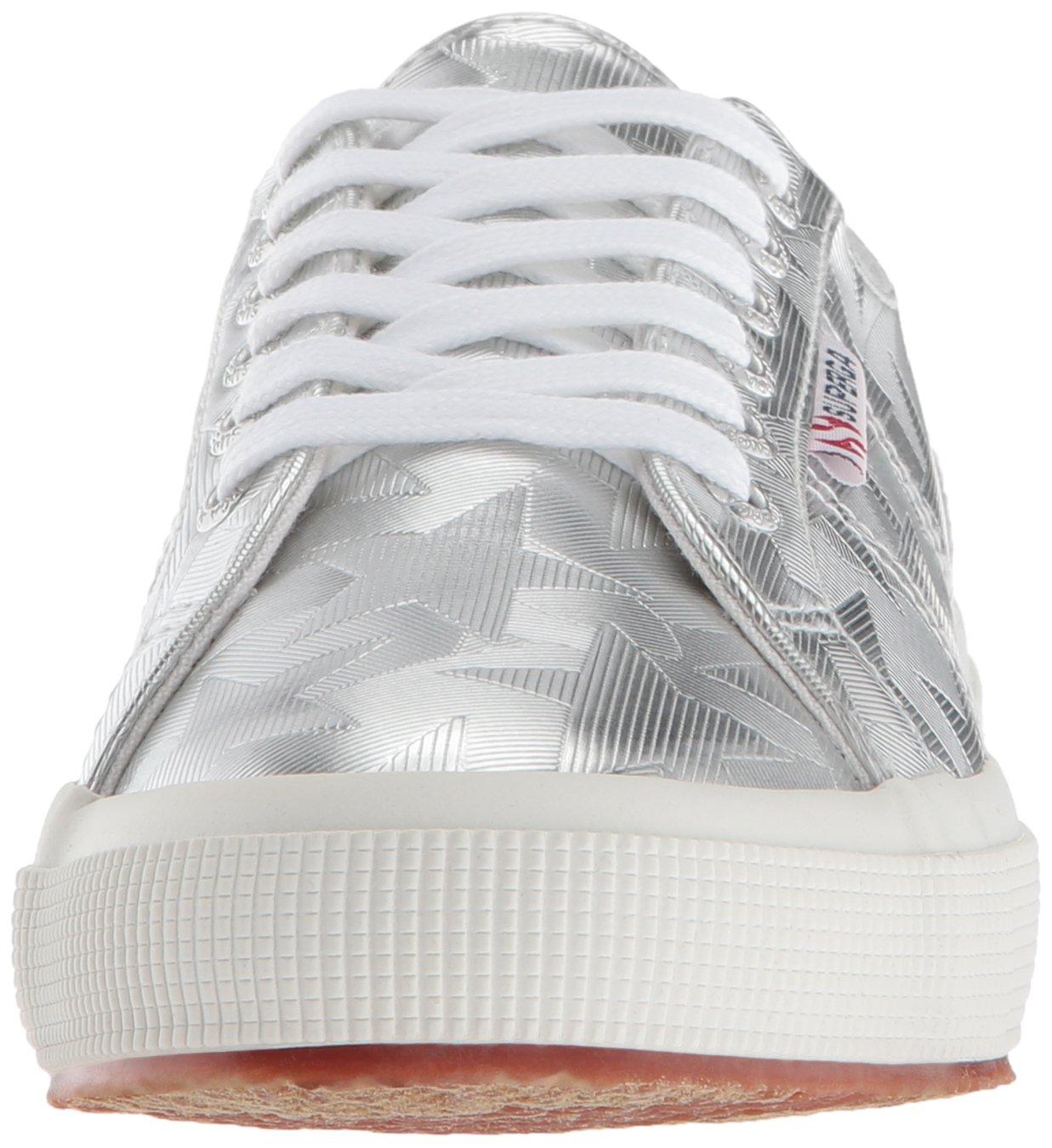 Superga B078KDT3SN Women's 2750 Starchromw Sneaker B078KDT3SN Superga 41 M US|Silver ab92dc