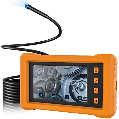 Amazon.com: 5.5mm Industrial Endoscope, 4.3inch Full-View ...