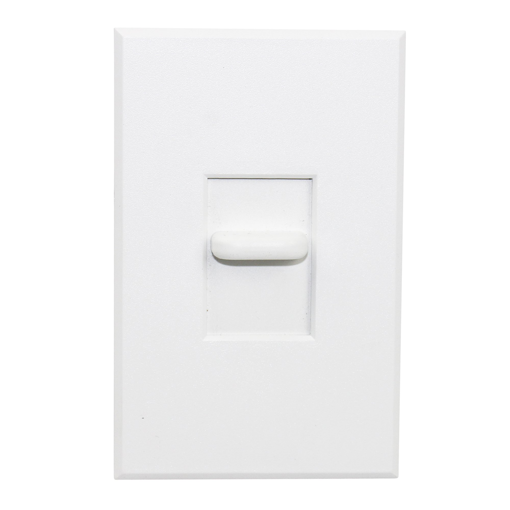 Lightolier V600VAUW Vega Heat Sink Slide Dimmer 120/277V 60Hz Low Voltage, White by Lightolier