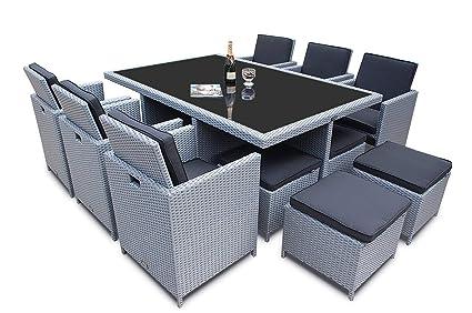 Ragnarok Mobeldesign Polyrattan Deutsche Marke Eignene Produktion 8 Jahre Garantie Auf Uv Bestandigkeit Gartenmobel Essgruppe Tisch 6 Stuhle