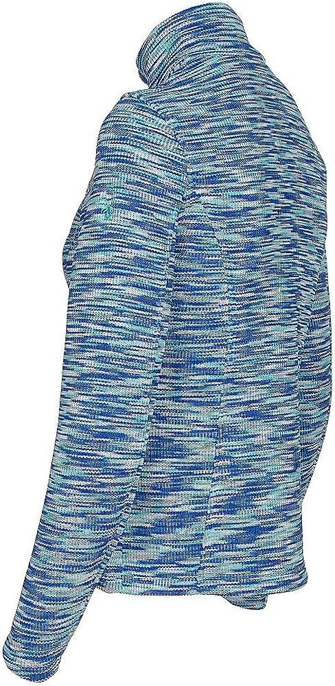 Spyder Womens Endure Space Dye Full Zip Mid Weight Stryke Fleece