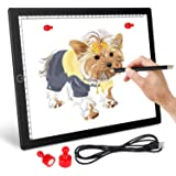 A4 LED Light Pad Light Board for Diamond Painting - Ultra-Thin Magnetic Tracing Light Box with USB Powered for Artists Drawin