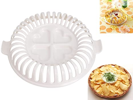 Sumchimamzuk Microondas Patatas de Chips de Maker: Amazon.es ...