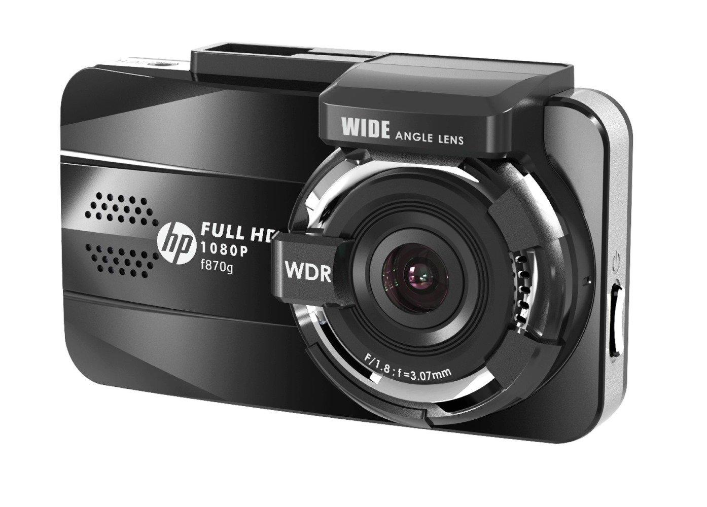 【正規輸入品】 HP(ヒューレットパッカード) 「HDMI出力対応」 ドライブレコーダー 3.0インチLCDカラーモニター 対角155° f870g B07584F93X