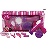 Vogue Girls Beauty Salon Fashion Play Set with Hairdryer, Mirror & Styling Accessories