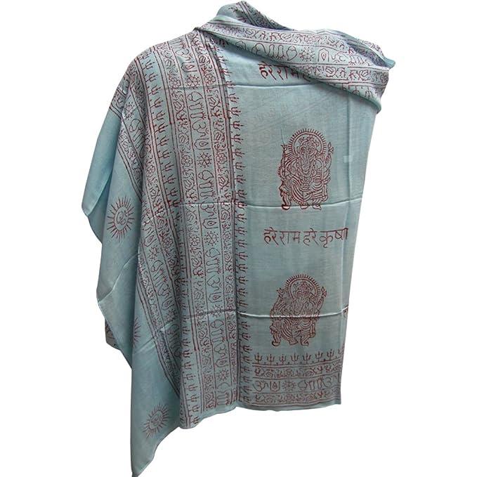 Amazon.com: Indio Ganesh Om de meditación, yoga Altar Paño ...