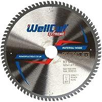 WELLCUT WE80165 TCT zaagblad Extreme 165mm x 80T x 20mm Boor