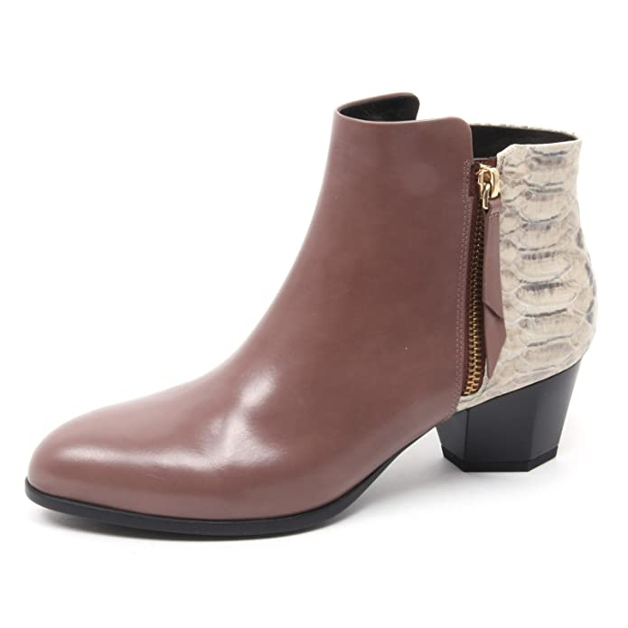 B4126 tronchetto donna HOGAN H237 stivaletto zip esterna boot shoe woman