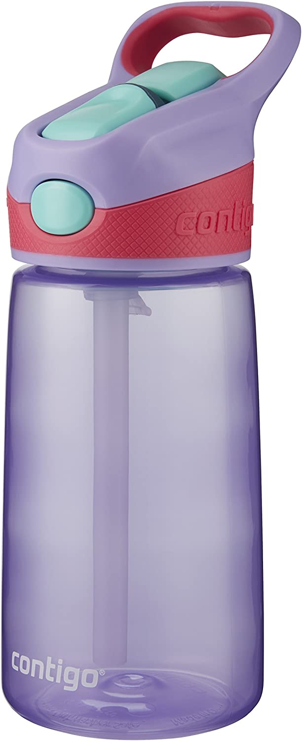 Contigo Kids 2 and 1 Snack Hero Kids Tumbler and Snack Cup 2 pack Blue-Green 13 oz