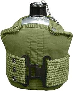 Rothco Aluminum Canteen and Pistol Belt Kit