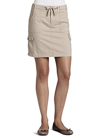 10a6b63f9d Carhartt Women's Cargo Skirt, Stone (Closeout), 0 at Amazon Women's  Clothing store:
