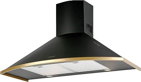 CATA Campana Decorativa Clasica 900 con 3 Velocidades, 50 W, Acero Inoxidable, Negro: 237.11: Amazon.es: Grandes electrodomésticos