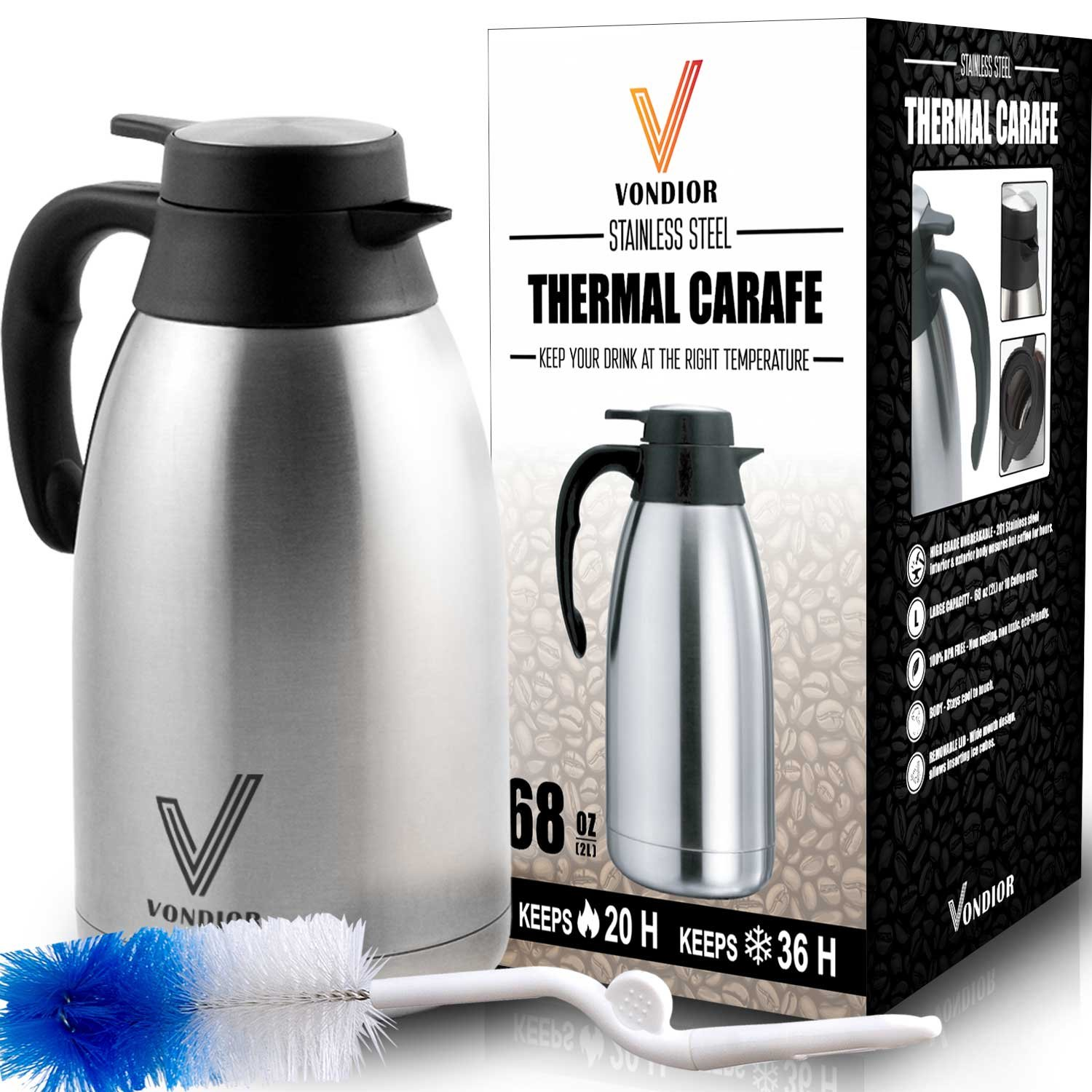 Excellent Best Rated in Thermal Carafes & Helpful Customer Reviews - Amazon.com BN94