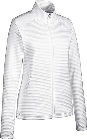 adidas Essentials 3-Stripes Chaqueta de Golf, Mujer: Amazon ...