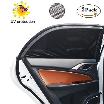 Lictin Auto-Sonnenschutz für Seiten Autofenster Baby mit UV-S und Heckscheibe
