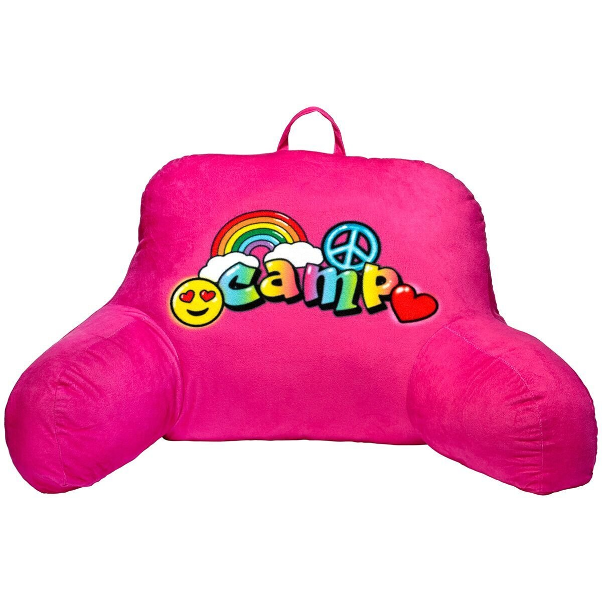 3C4G Airbrush Camp Bed Rest Pillow, Pink