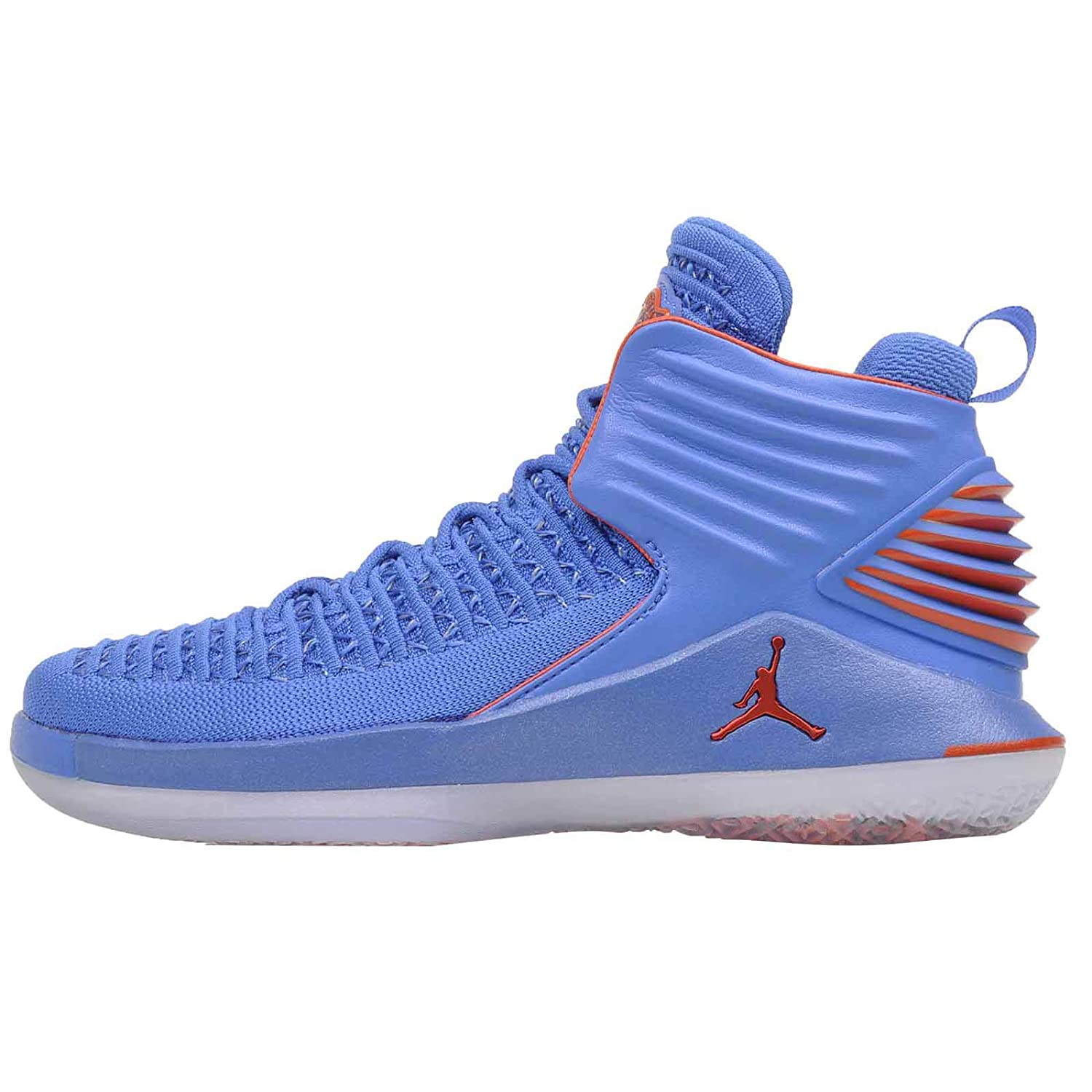 8037de80647 Amazon.com | Nike Youth Air Jordan 32 BG AA1254 400 Blue/Orange | Basketball