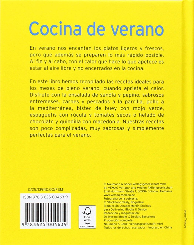 COCINA DE VERANO MINI LIBRO DE COCINA: 4639: 9783625004639: Amazon.com: Books