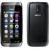Nokia Asha 308 Black Touchscreen Unlocked GSM Dual SIM DualBand Bar Cell Phone